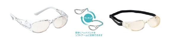 保護メガネは一週間後の診察までしておきましょう